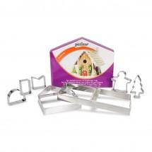 Set cortadores casa de jengibre