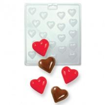 Molde para candy Mini corazones