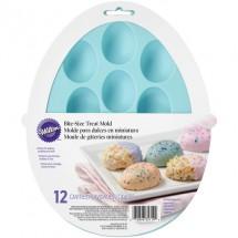 Molde de silicona Huevos de pascua